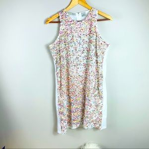 Sequin multicolour sleeveless dress! NEW